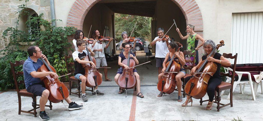 les concerts de musique de l'association D'la vie en musique