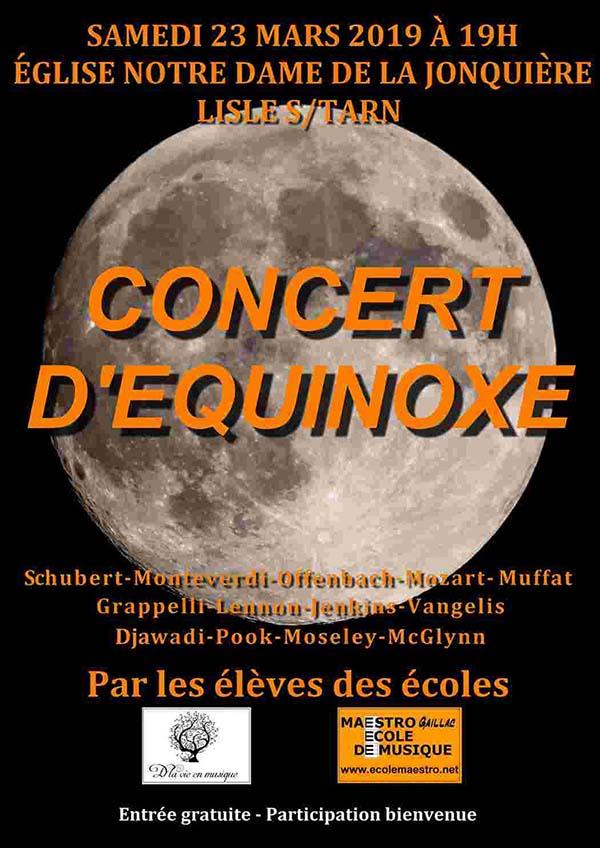 Concert du 23 mars 2019